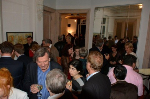 Ausstellungseröffnung von Sonja Grasmug vom 22.11.2013