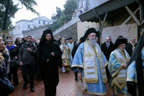 WEIHNACHTEN BEI DER GRIECHISCH-ORTHODOXEN GEMEINDE IN ISTANBUL